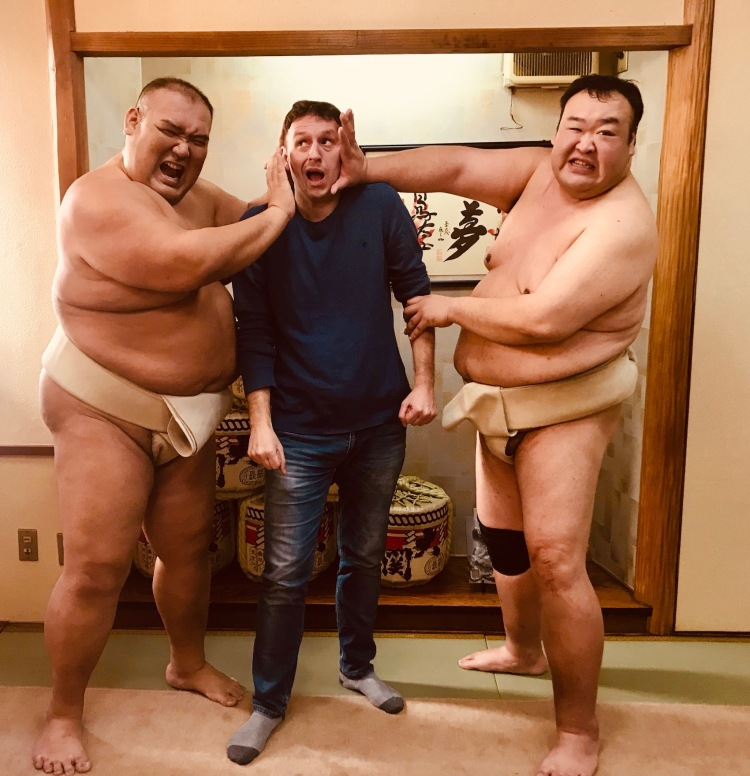 Sumo duel performance Tokyo Things to see and do Tokyo