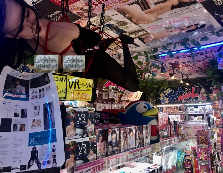 Adult section Don Quijote Discount Store Akihabara Tokyo