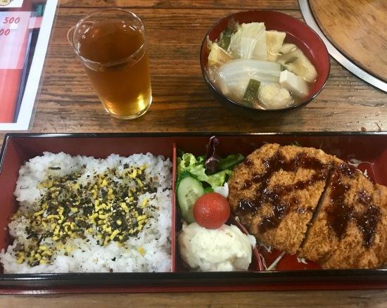 Chanko Nabe Sumo Stew with fried chicken Asakusa Tokyo