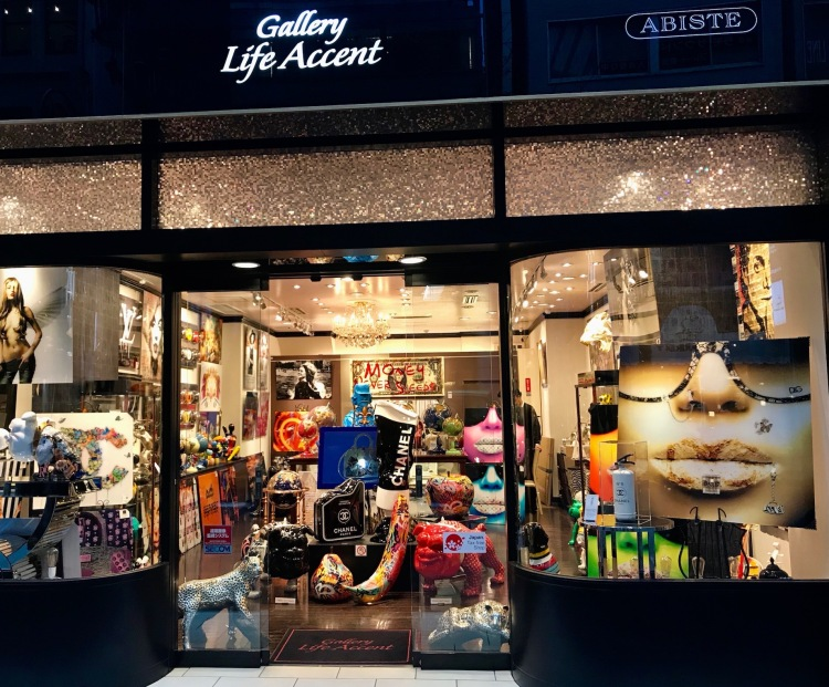 Gallery Life Accent Ginza Tokyo.