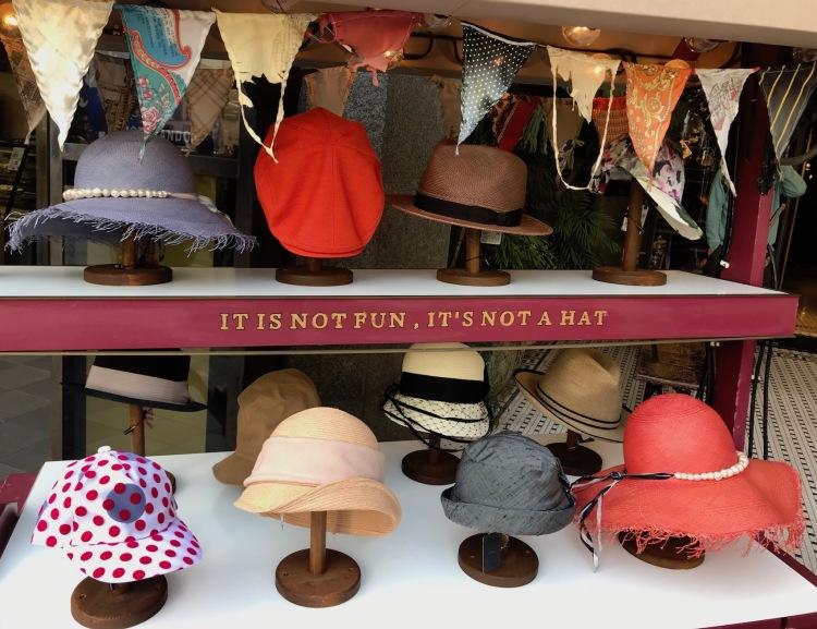 If it's not fun it's not a hat Cat Street Tokyo
