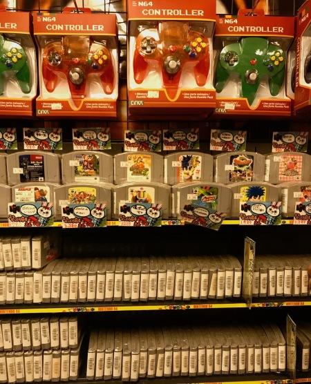 Nintendo 64 games Super Potato Akihabara Tokyo