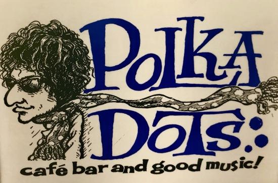 Polka Dots Bob Dylan Bar Tokyo.