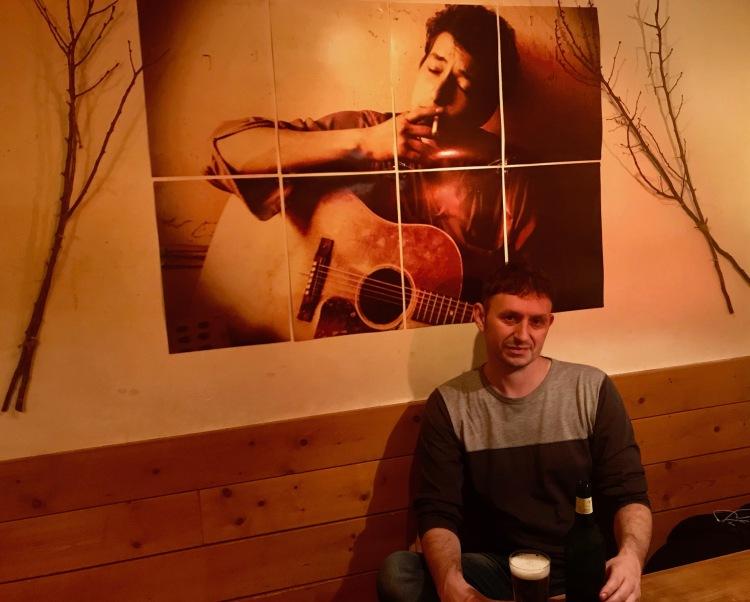 Polka Dots Bob Dylan Cafe Bar Tokyo.
