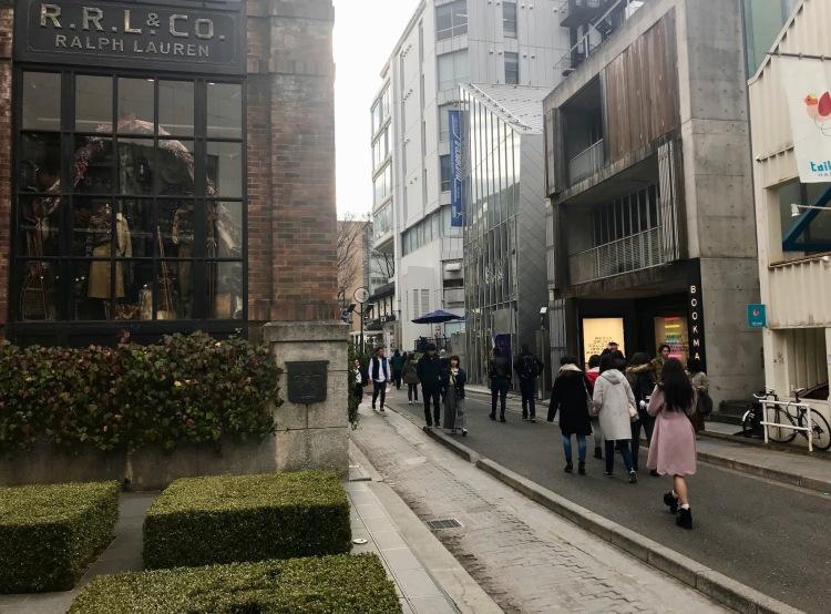 Ralph Lauren Cat Street Harajuku Tokyo