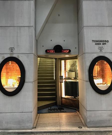 Tenshodo Model Shop Ginza Tokyo.