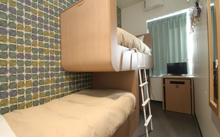 Twin room Oak Hostel Sakura Asakusa Tokyo
