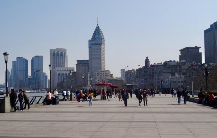 A stroll down The Bund Shanghai.