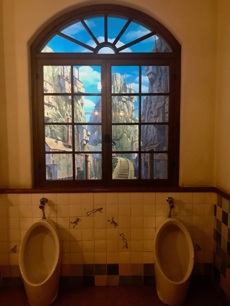 Castle in the Sky themed toilets The Ghibli Museum Tokyo