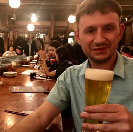 Dinner and drinks at The Kill Bill Restaurant Gonpachi Nishiazabu Tokyo