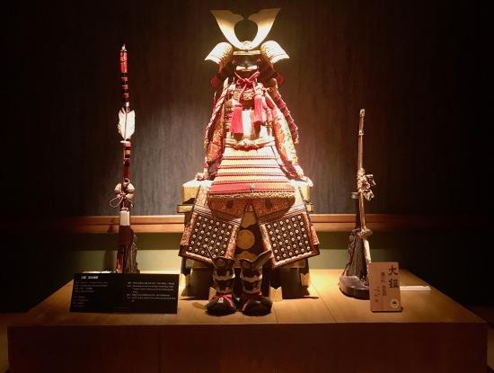 Edo period armour The Samurai Museum Tokyo.