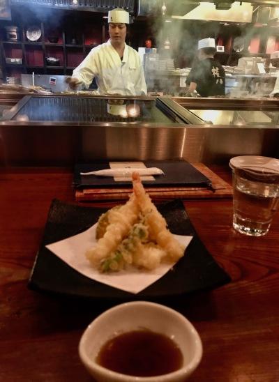 Fried tempura The Kill Bill Restaurant Gonpachi Nishiazabu Tokyo