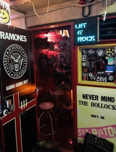 Hair of the Dogs Punk Bar Golden Gai Tokyo.