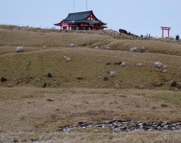 Hakone Shrine Mototsumiya Mount Hakone Japan.