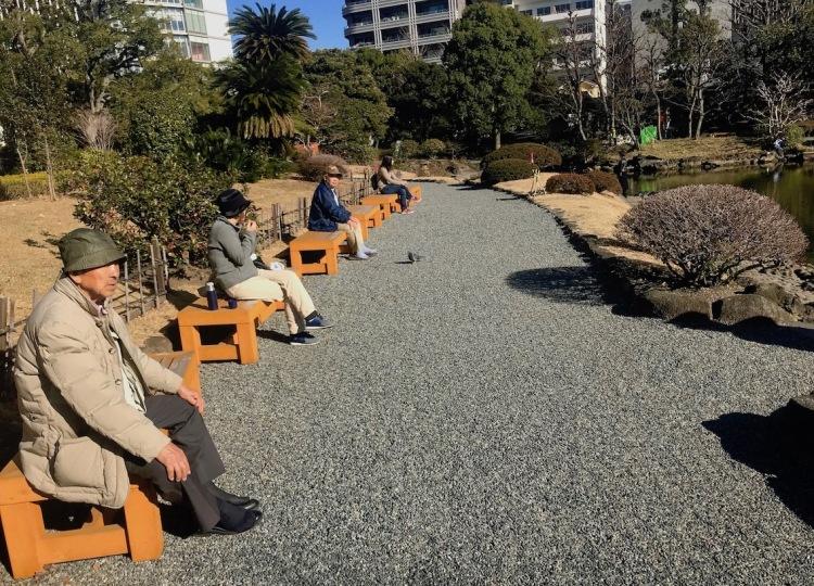 Kyu-Yasuda Gardens Tokyo