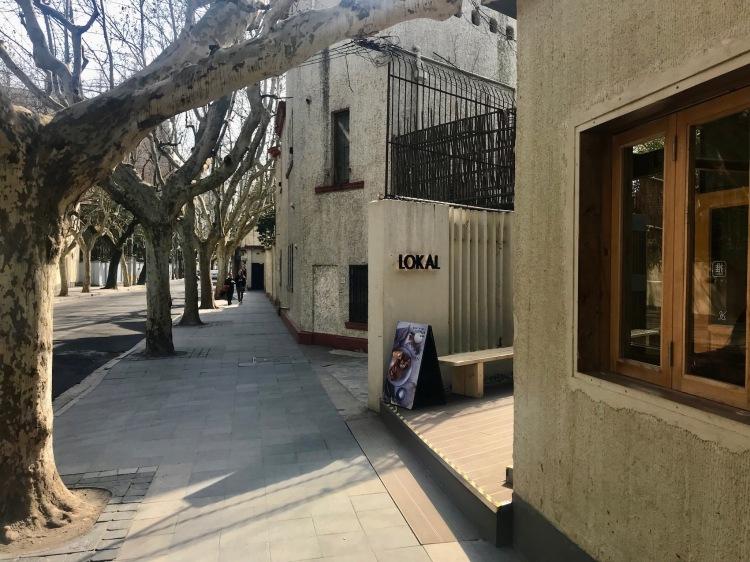 Lokal Bakery Shanghai French Concession.