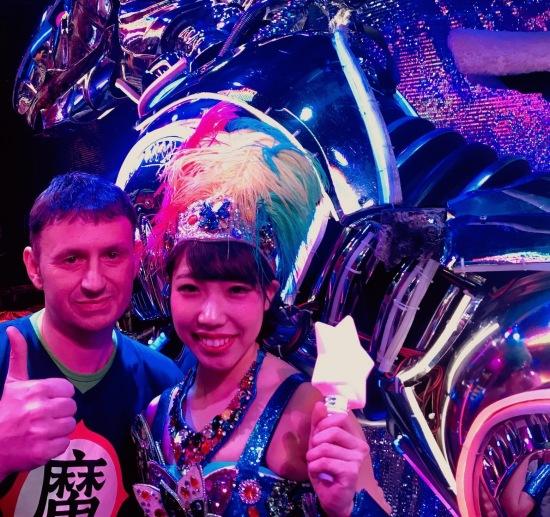 Meet the performers The Robot Restaurant Tokyo.