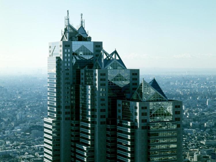 Park Hyatt Shinjuku Tower Tokyo.