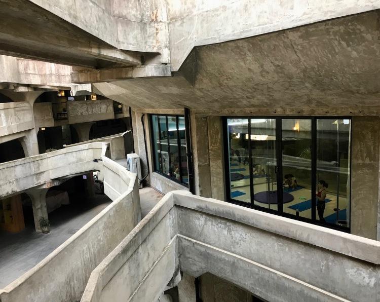 Pole dancing studio 1933 Slaughterhouse Shanghai.