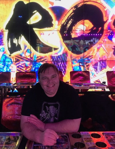 Pre-show at The Robot Restaurant Tokyo.