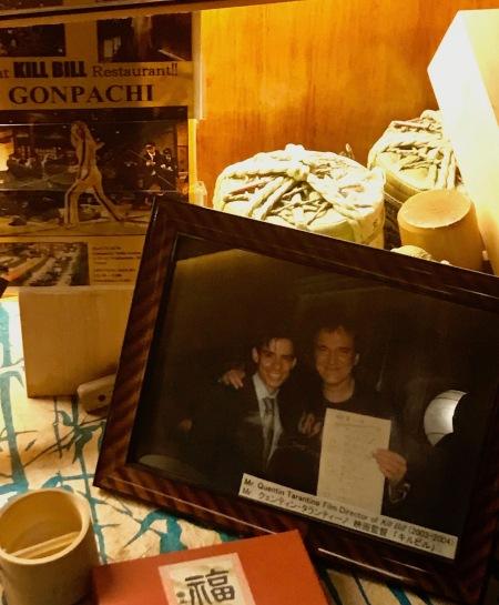 Quentin Tarantino The Kill Bill Restaurant Gonpachi Nishiazabu Tokyo