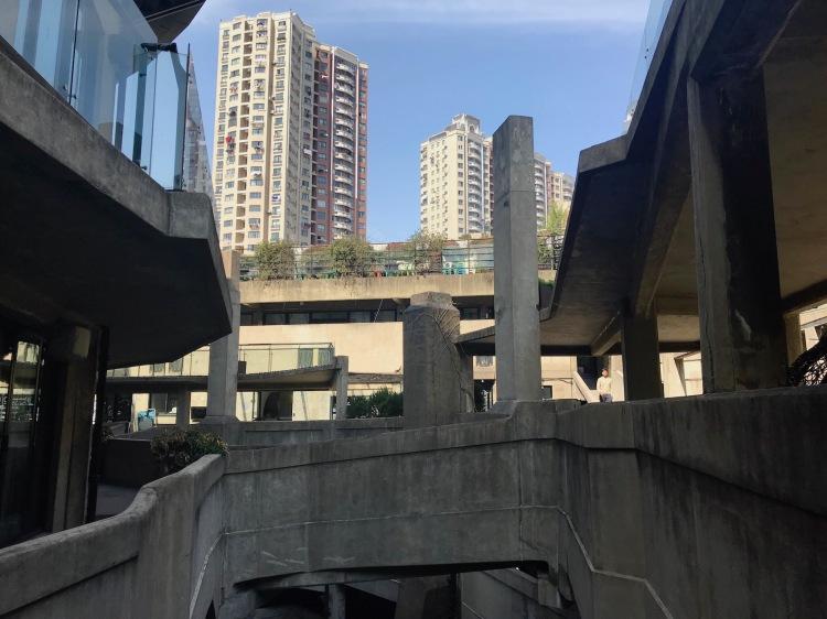 Rooftop 1933 Slaughterhouse Shanghai.