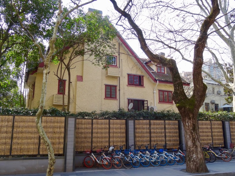Spanish style residence Route Ferguson The French Concession Shanghai.