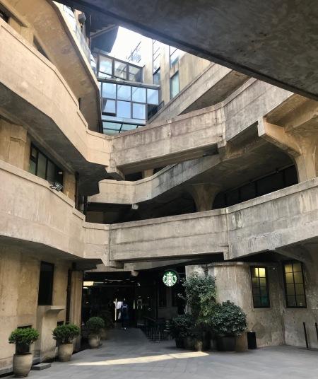 Starbucks 1933 Slaughterhouse Shanghai.