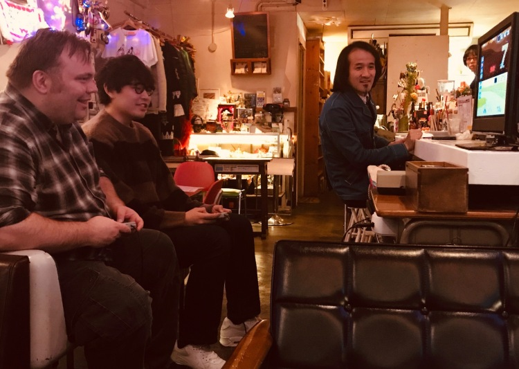 Super Mario Kart 8bit Cafe Tokyo.