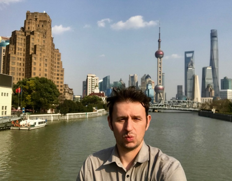 The Pudong Skyline Shanghai.