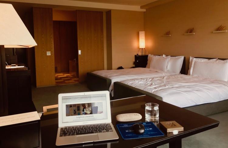 Twin Bed Deluxe Room Park Hyatt Tokyo