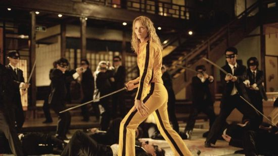 Uma Thurman Kill Bill fight scene.