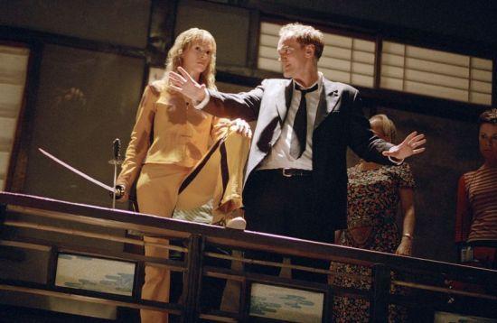 Uma Thurman Quentin Tarantino fight scene Kill Bill Volume 1.