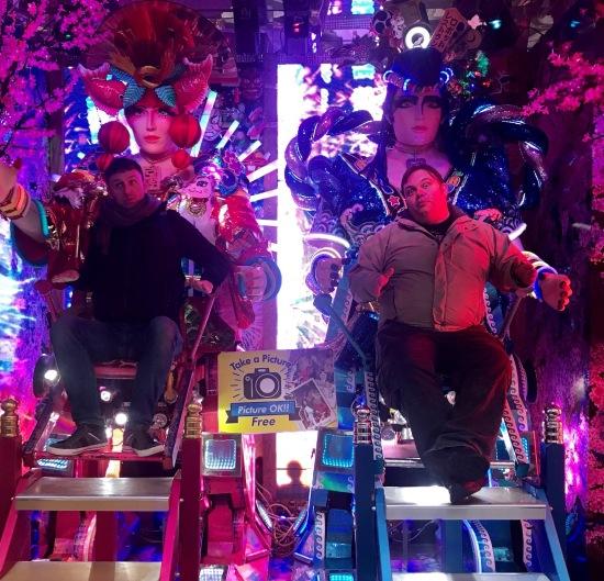 Visit The Robot Restaurant Tokyo.