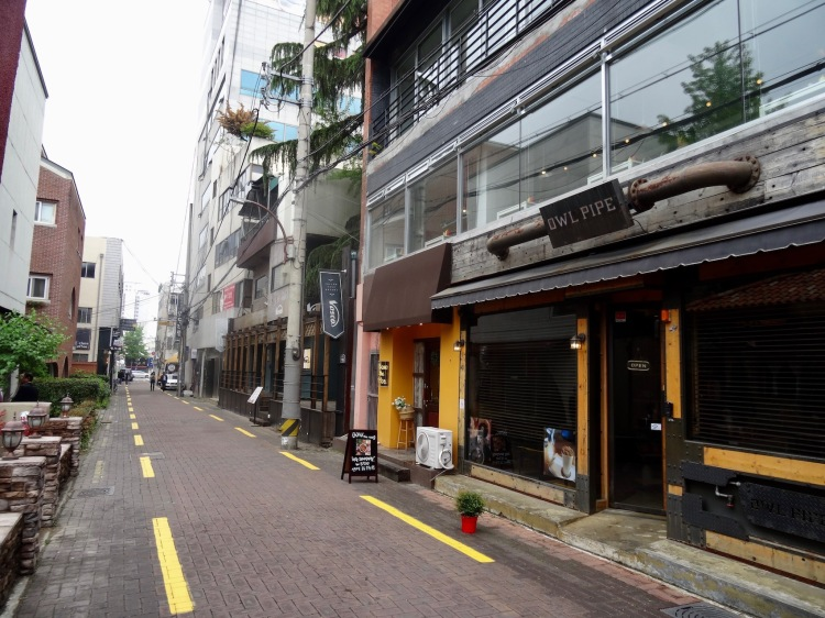 Dongseongno Cafe Alley Daegu South Korea.
