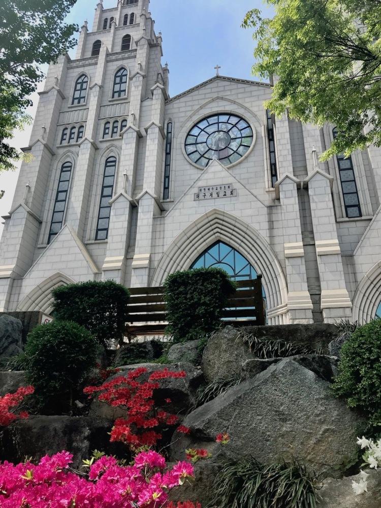 First Presbyterian Church of Daegu South Korea.