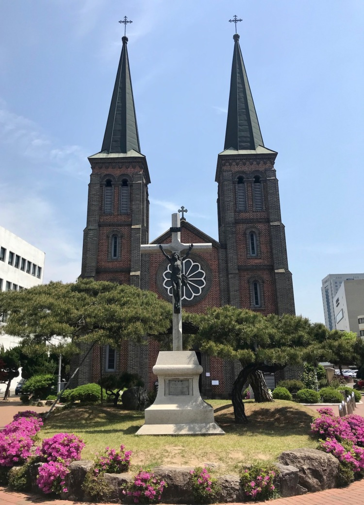 Our Lady of Lourdes Cathedral Daegu South Korea