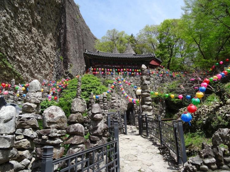 Tapsa Temple Maisan Mountain South Korea.
