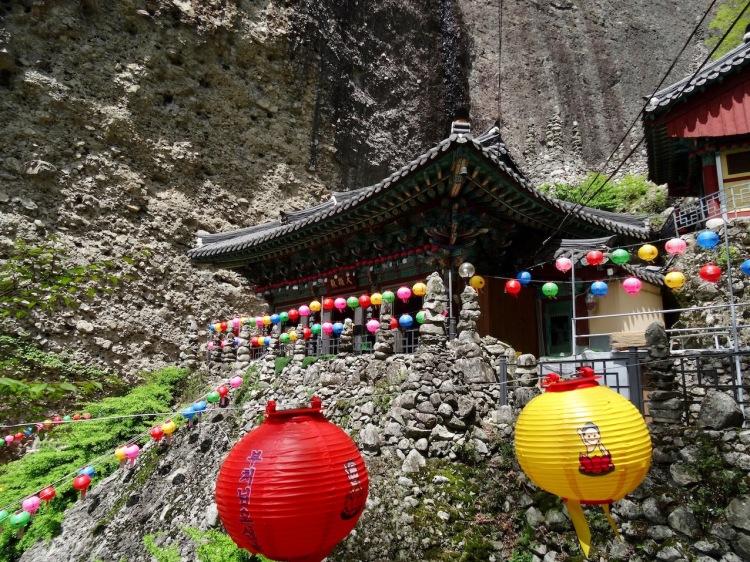 Tapsa Temple on Maisan Mountain South Korea.