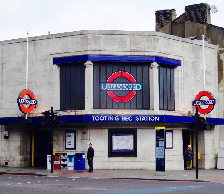 Tooting Bec Station London.