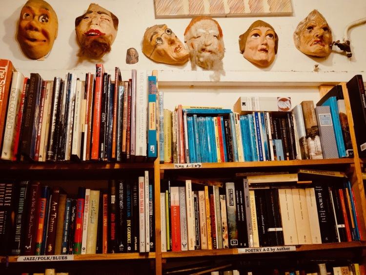 Black Gull Bookshop and bindery Camden Town.