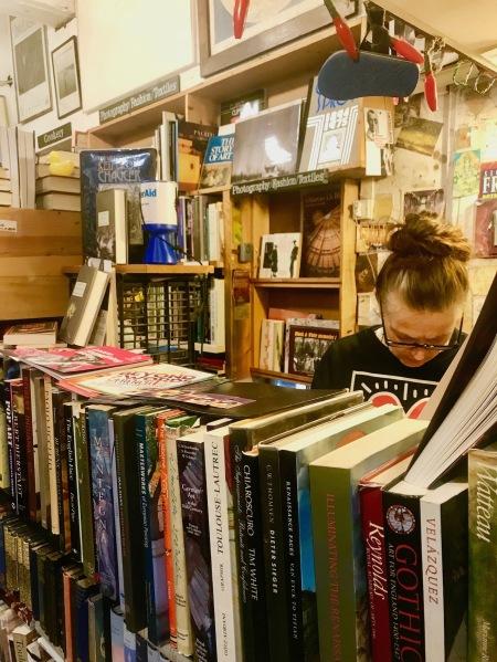Black Gull Bookshop and bindery Camden Town London.