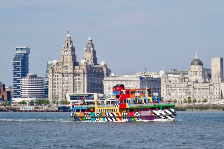 Ferry Cross The Mersey River Explorer Cruise LIverpool.