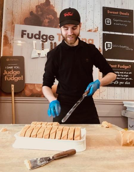 Fudge Kitchen Cambridge England.