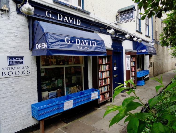 G. David Bookseller Cambridge England.