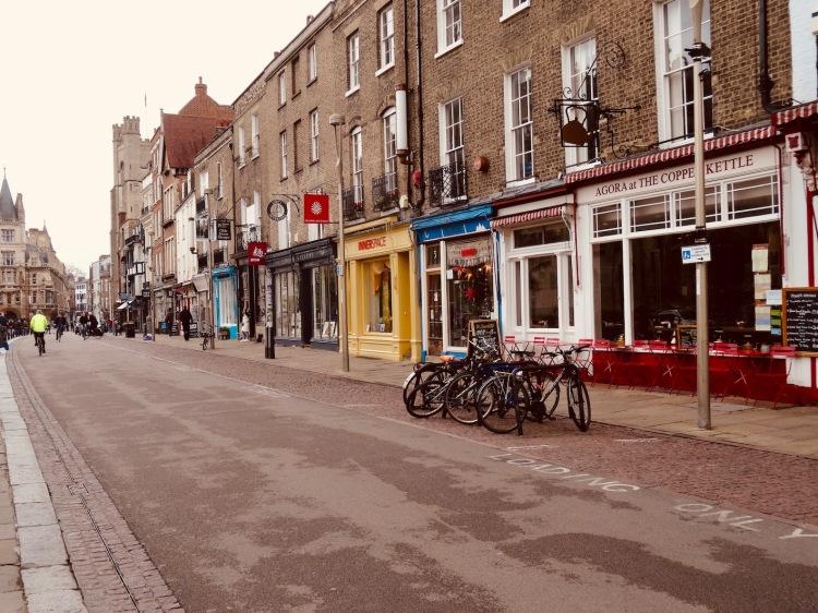 King's Parade Cambridge England.