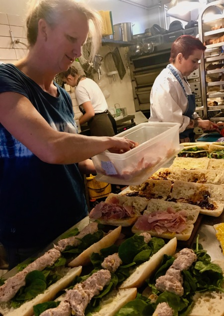 Lunch rolls Dee Light Bakery Tooting Bec London.