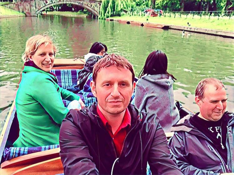 Punting on the Cambridge Backs England.