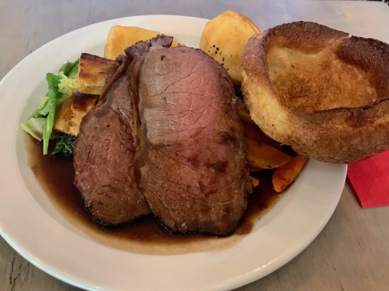 Roast welsh black beef sirloin horseradish Richard's Kitchen Tooting Bec London