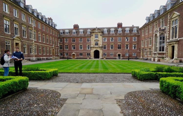 St. Catharine's College Cambridge England.